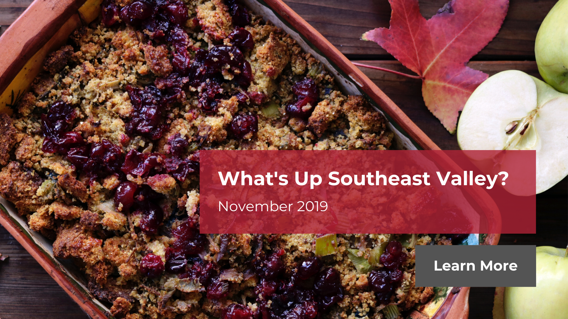 What's Up Southeast Valley? November 2019