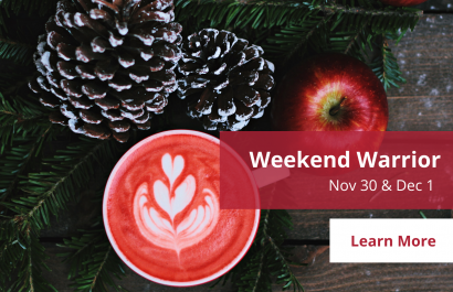 Weekend Warrior - November 30 - December 1 | Amy Jones Group Copy