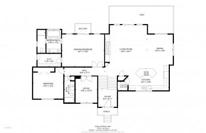 Floor Plans of 3109 Moonshadow Evergreen