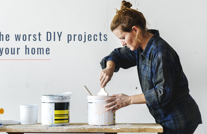 10 Common DIY Projects that Will Leave You Hiring a Professional