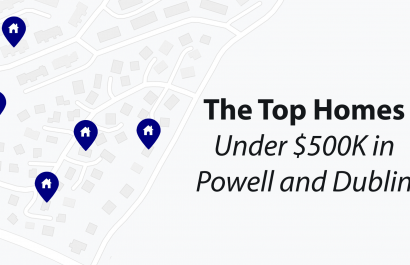 Top Homes Under $500K in Powell and Dublin