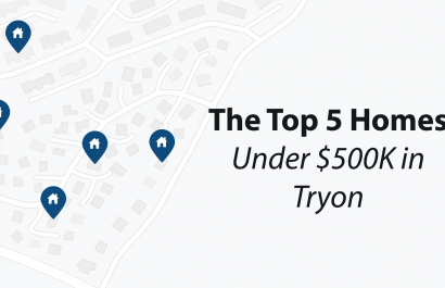 Top 5 Homes Under $500K In Tryon