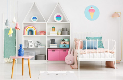 9 DIY Tips for your Kids' Room this Winter Break