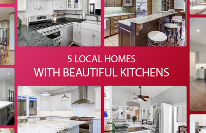 5 Local Homes With Beautiful Kitchens