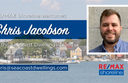 RE/MAX Shoreline Welcomes Chris Jacobson to the Seacoast Dwellings Team!