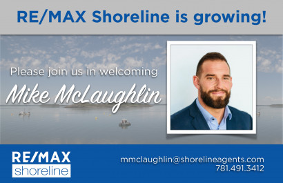 Shoreline is Growing... Welcome Mike McLaughlin!