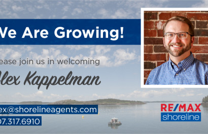 Shoreline is Growing... Welcome Alex Kappelman!