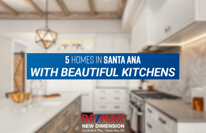 5 Homes in Santa Ana With Beautiful Kitchens