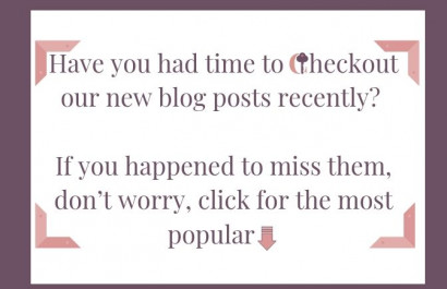 Our Most Popular Blogs