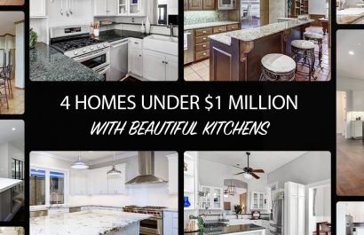 4 Homes With Beautiful Kitchens Under $1 Million
