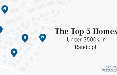 Top 5 Homes Under $500K In Randolph