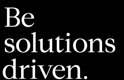 Compass Principle 4: Be Solutions-Driven