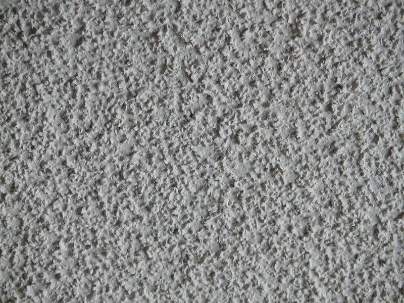 Popcorn ceiling - Wikimedia Commons