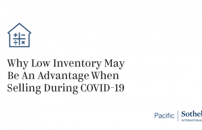 Low Inventory Might Help You Sell Your Home During COVID