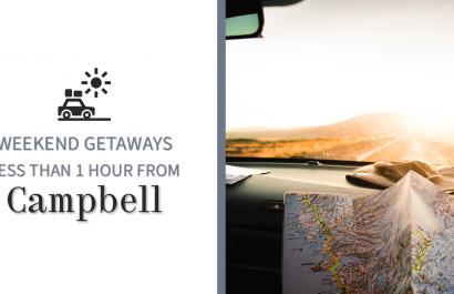 Weekend Getaways Near Campbell