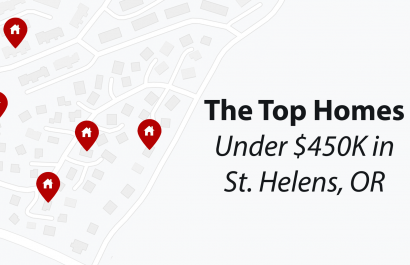 Top Homes Under $450K In St. Helens, OR