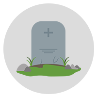 Cemeteries & Funeral Homes near your home decreases its value