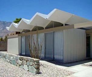 Wexler's all-steel homes.