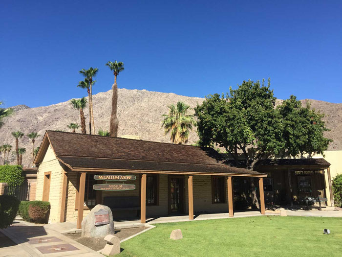 Palm Springs Home Historic