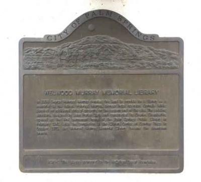 Welwood Plaque