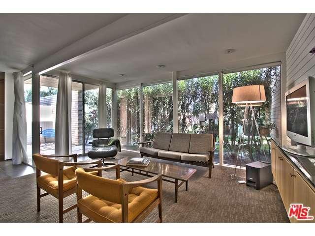 inside a Palm Springs Home