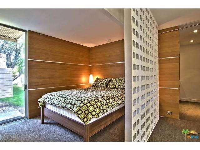 Palm Springs Home Bedroom