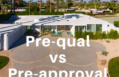 What's the difference between a pre-qual and pre-approval letter when buying a home?
