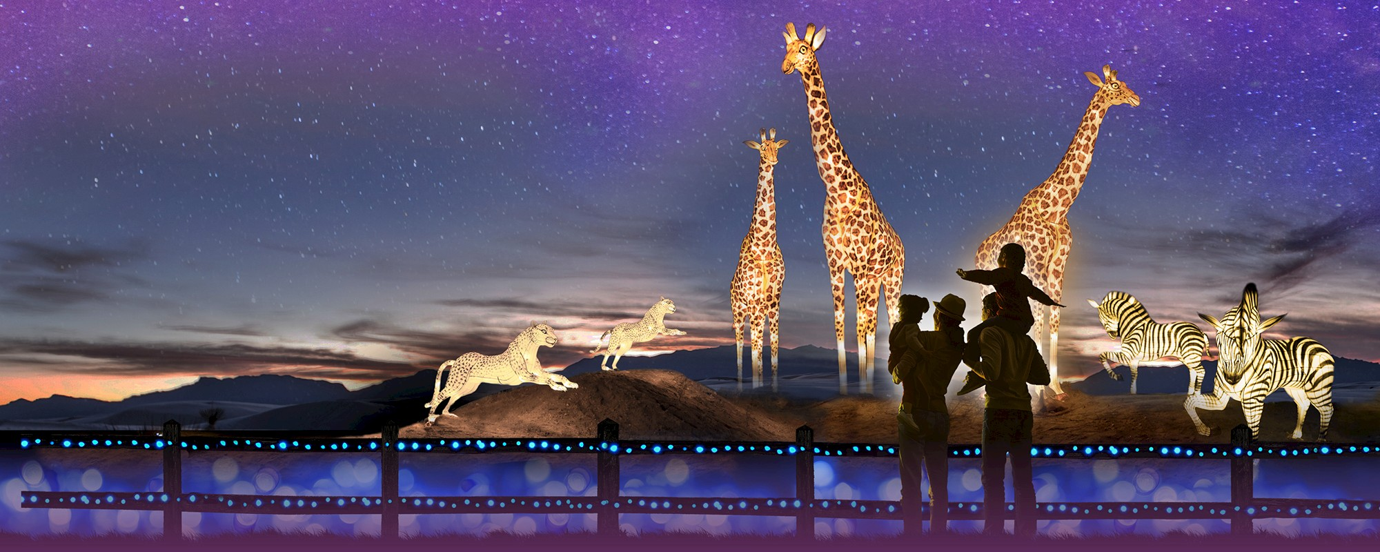 WildLights | The Living Desert Zoo and Gardens