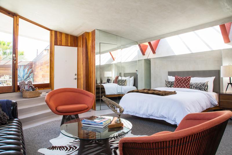 Hotel Lautner room interior