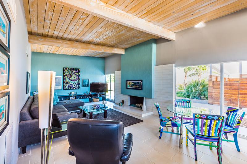 1150 E Adobe Way, Palm Springs 92262 - living room