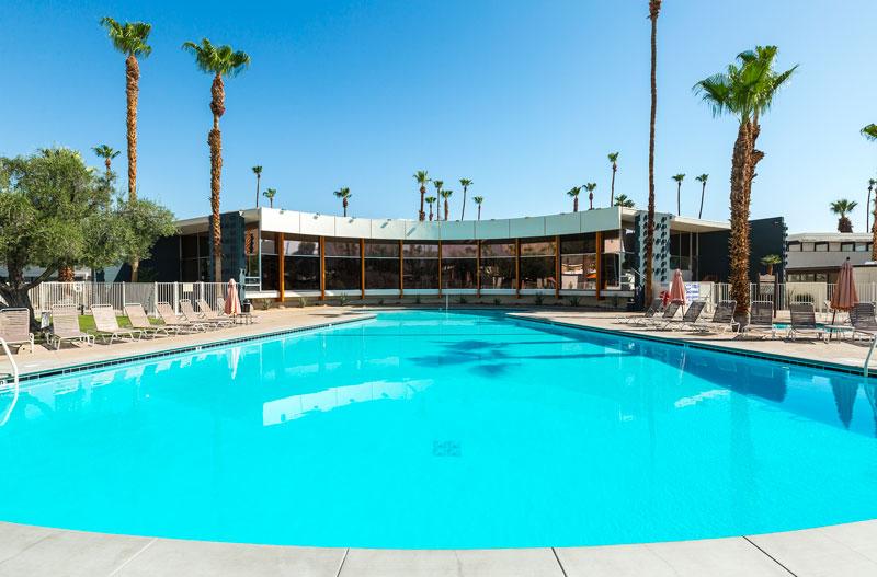 The Ocotillo Lodge pool