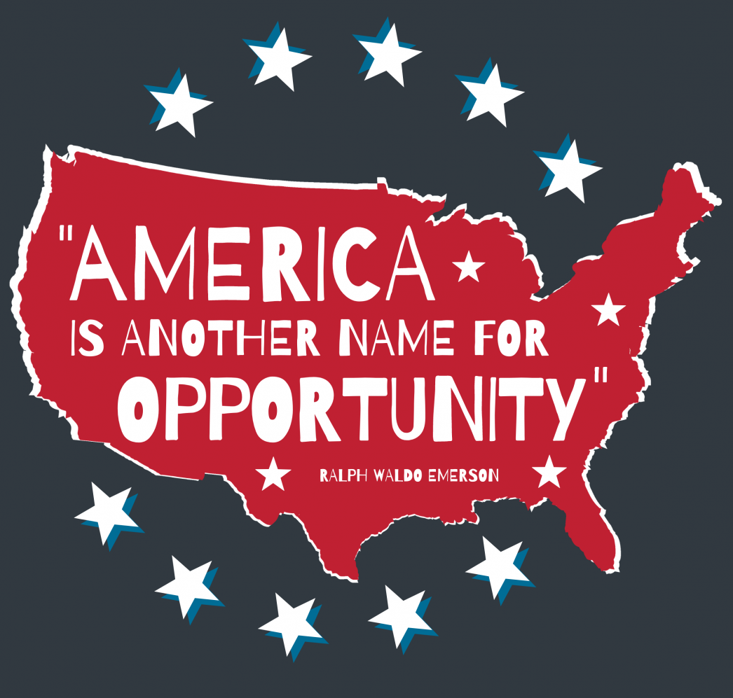 America Is Another Name for Opportunity [INFOGRAPHIC] | MyKCM