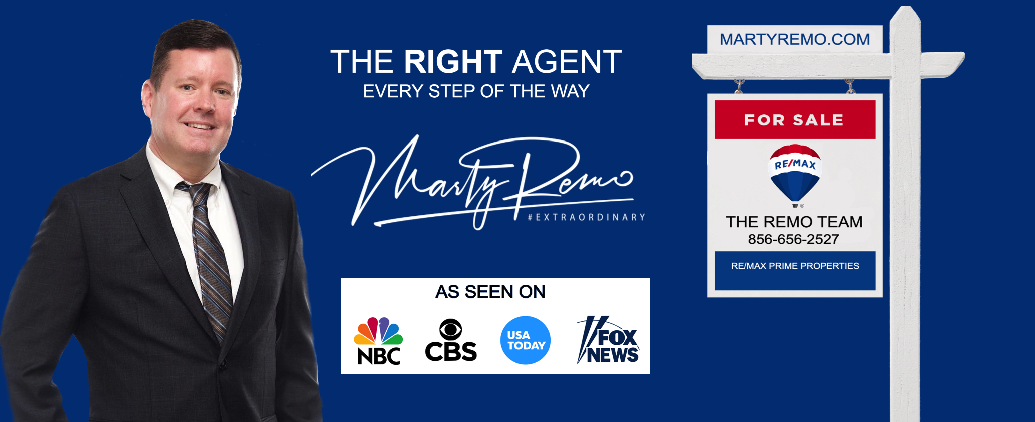Marty Remo- RE/MAX- The Remo Team- Award Winning Real Estate Professional