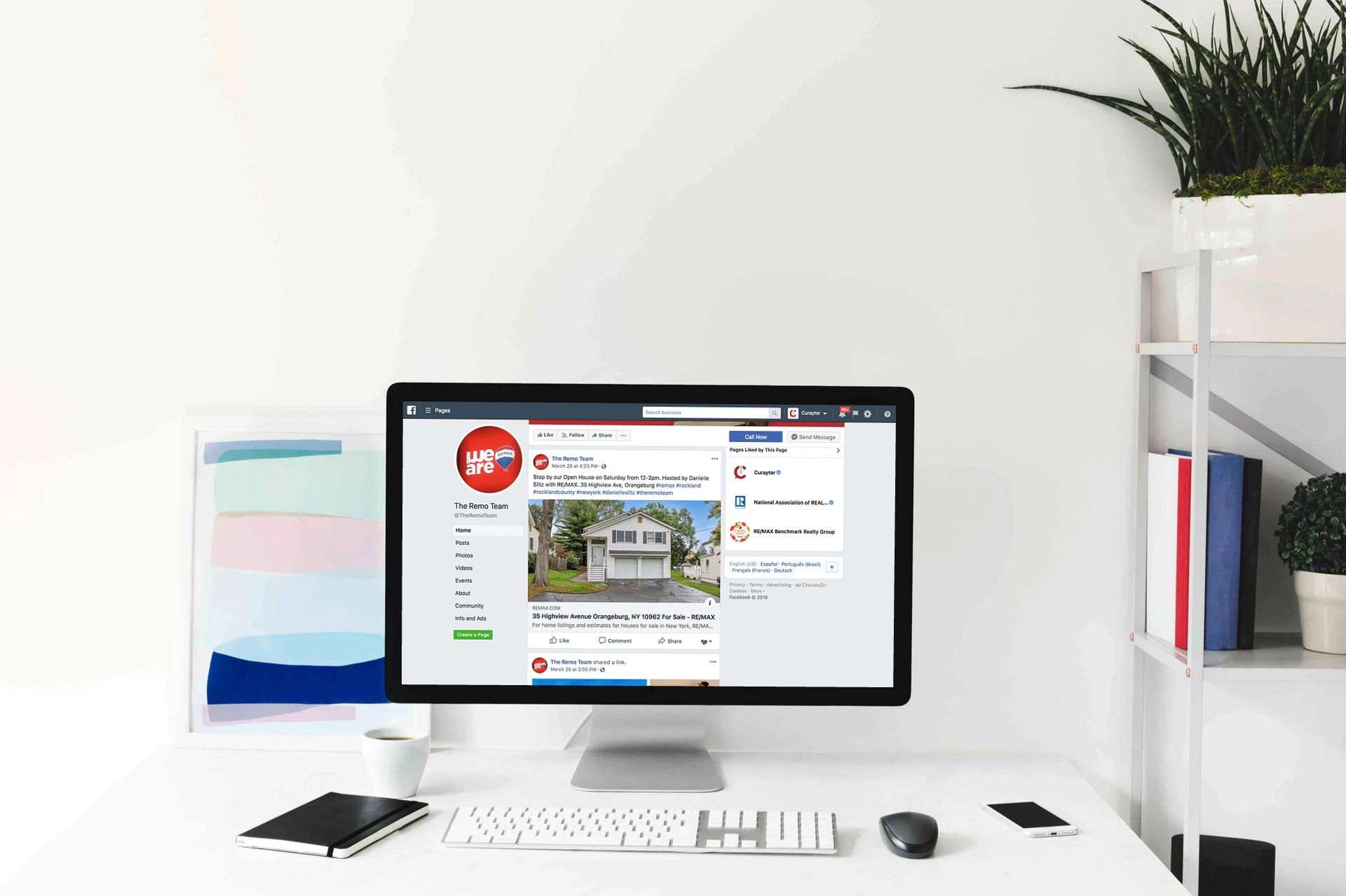 Facebook Marketing | RE/MAX Benchmark Realty Group