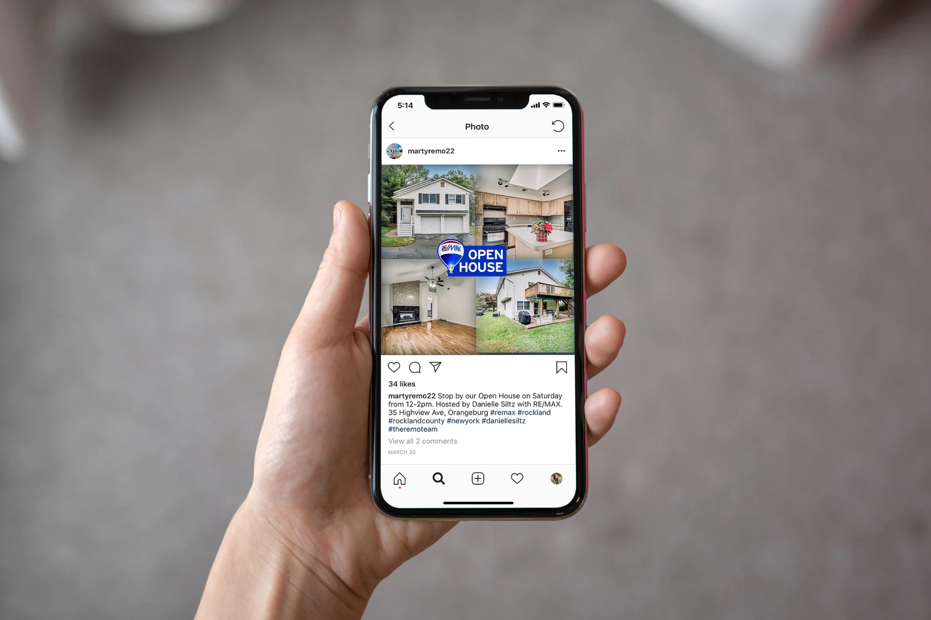 Instagram Marketing | RE/MAX Benchmark Realty Group