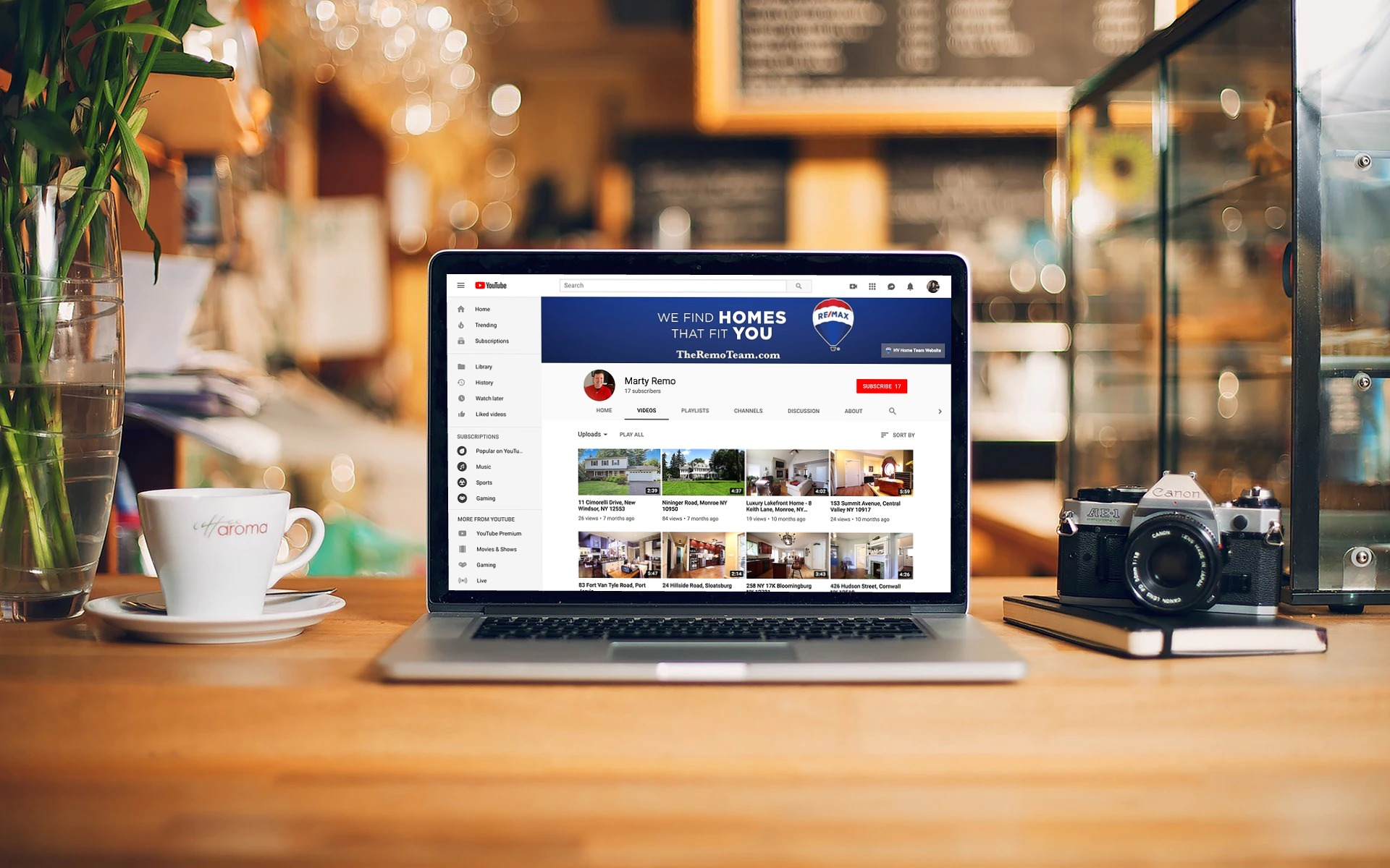 YouTube Marketing | RE/MAX Benchmark Realty Group