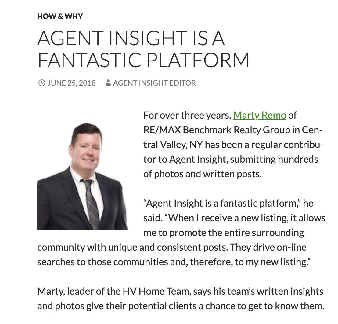 Agent Insight is a Fantastic Platform