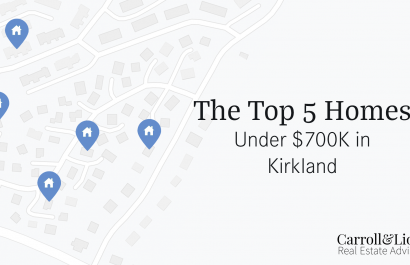 Top 5 Homes Under $700K In Kirkland