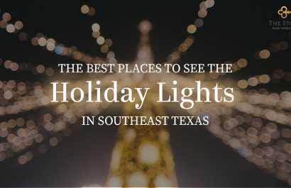 The Best Places To See The Holiday Lights in Southeast Texas
