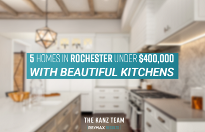 5 Homes in Rochester With Beautiful Kitchens Under $400K