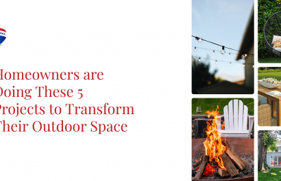 Homeowners are Doing These 5 Projects to Transform Their Outdoor Space