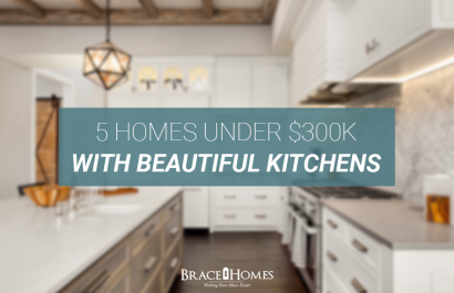 5 Homes With Beautiful Kitchens Under $300K