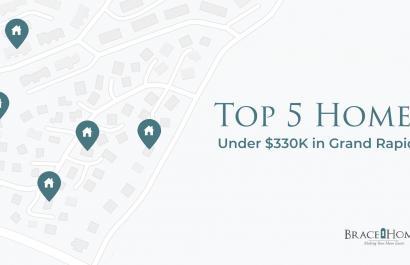 Top 5 Homes Under $330K In Grand Rapids