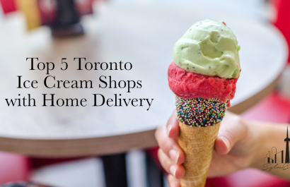 Top 5 Toronto Ice Cream Shops with Home Delivery