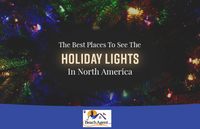The Best Places To See The Holiday Lights in North America