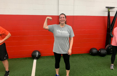 I am down 20lbs with DSC's Nutrition Coaching Program!