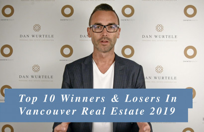 Top 10 Winners & Losers in Vancouver Real Estate 2019
