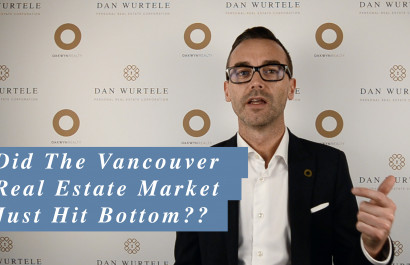 Did The Vancouver Real Estate Market Just Hit Bottom?
