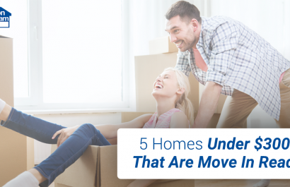 5 Homes Under $300K That Are Move In Ready