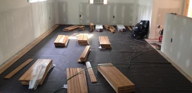 Wood materials for room